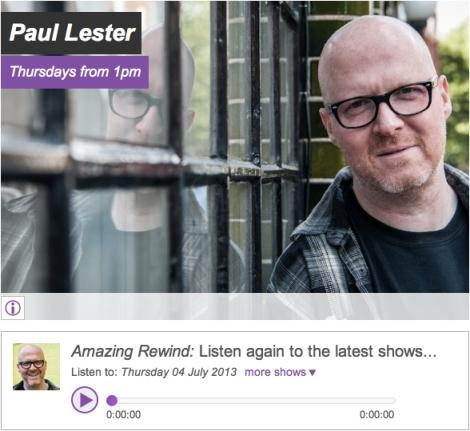 Paul Lester Amazing Radio