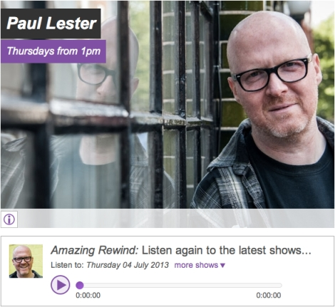 Paul Lester Amazing Radio