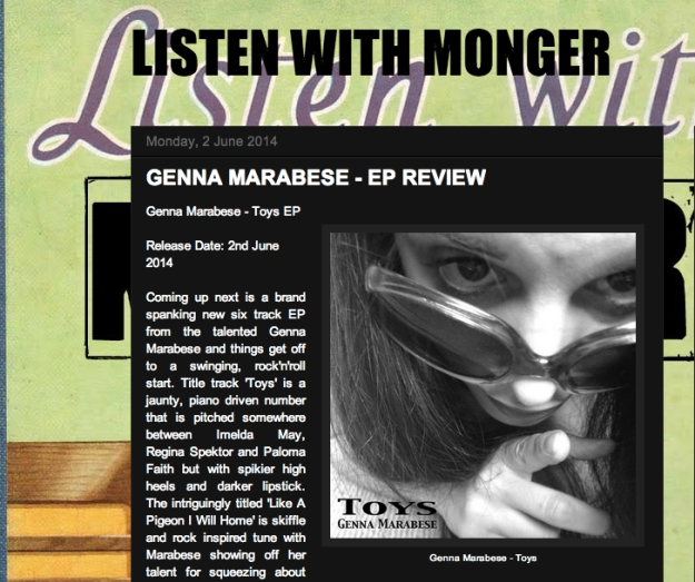 Listen With Monger Toys EP Review